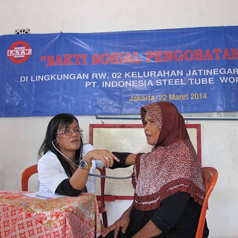 Giving Free Medical Assistance to People